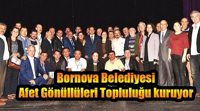 Bornova Belediyesi Afet Gönüllüleri Topluluğu kuruyor