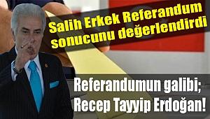 Salih ERKEK yazdı...