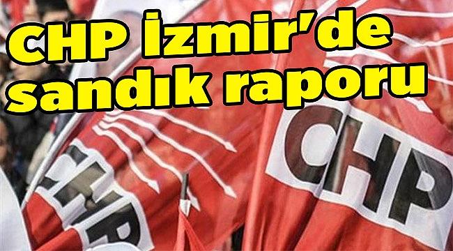 CHP İzmir'de sandık raporu
