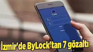 İzmir'de ByLock'tan 7 gözaltı