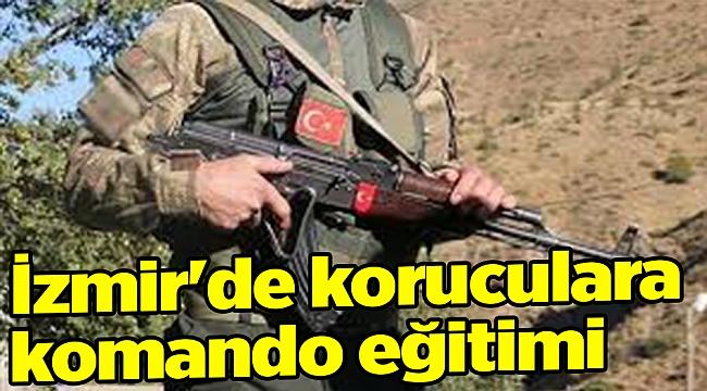 İzmir'de koruculara komando eğitimi