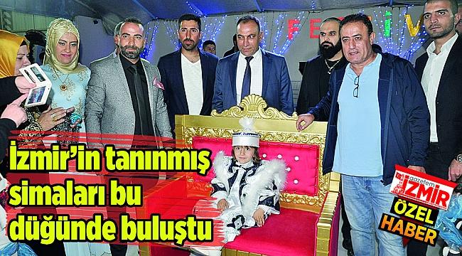 İzmir'in tanınmış simaları bu düğünde buluştu