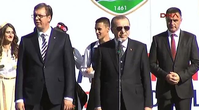 Novi Pazar'da Erdoğan konuştu; FETÖ yuhalandı