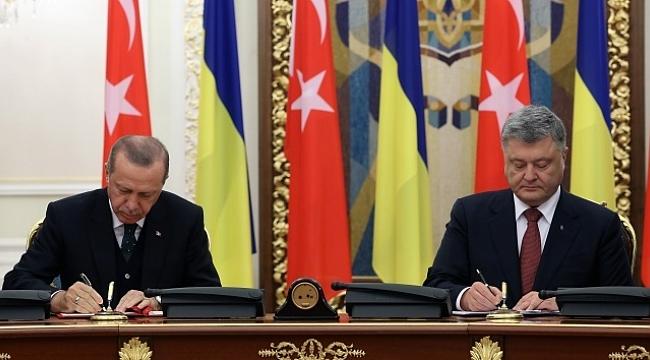 Türkiye ile Ukrayna arasında 9 anlaşma imzalandı