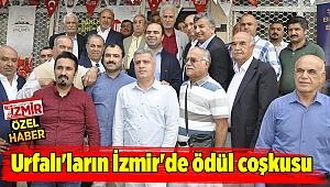 Urfalı'ların İzmir'de ödül coşkusu