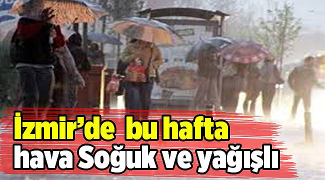 İzmir'de hava durumu