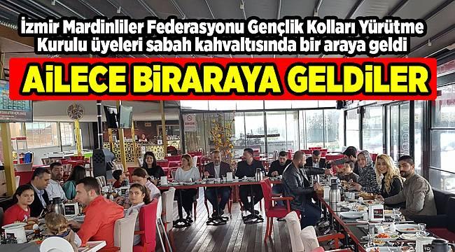 AİLECE BİRARAYA GELDİLER