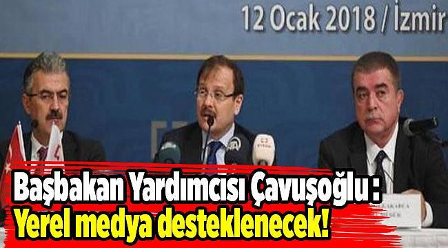 Başbakan Yardımcısı Çavuşoğlu İzmir'de konuştu