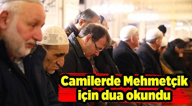 Camilerde Mehmetçik için dua okundu