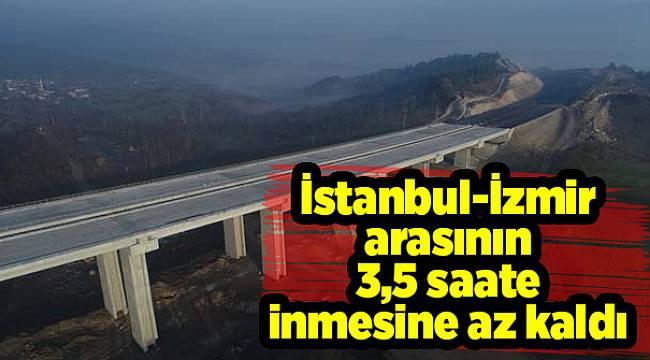 İstanbul-İzmir arasının 3,5 saate inmesine az kaldı