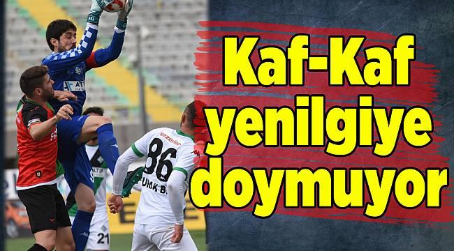 Karşıyaka'dan bir mağlubiyet daha