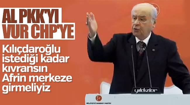 Devlet Bahçeli'den CHP'ye Afrin eleştirisi