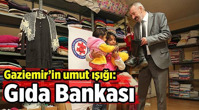 Gaziemir'in umut ışığı: Gıda Bankası