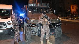 5 Bin polis ile huzur operasyonu