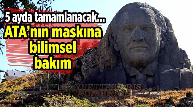 Ata'nın maskına bilimsel bakım