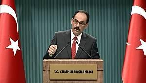 Cumhurbaşkanlığı Sözcüsü Kalın'dan Erdoğan-Trump görüşmesine ilişkin açıklama