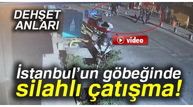 İstanbul'un göbeğinde silahlı çatışma!
