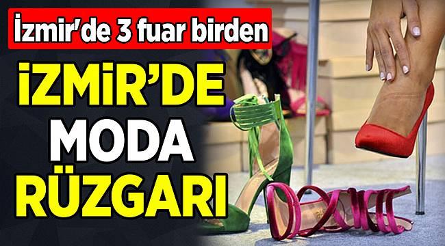 İzmir'de 3 fuar birden