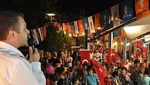 Ak Partili Başkandan İzmir Marşı