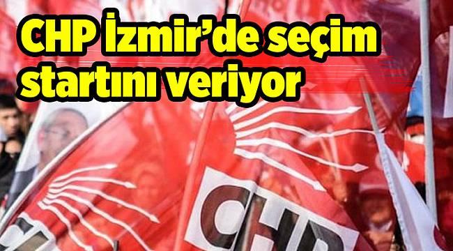 CHP İzmir'de seçim startını veriyor