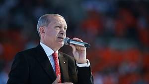 Cumhurbaşkanı Erdoğan proje vaatlerini açıkladı