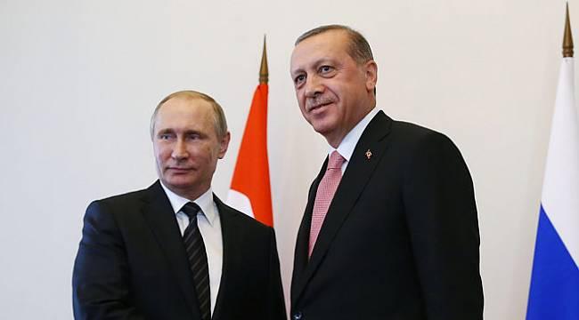 Cumhurbaşkanı Erdoğan, Putin ile telefonda görüştü...