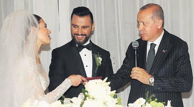 Cumhurbaşkanı Recep Tayyip Erdoğan Alişan'ın düğününde - Alişan Buse Varol evlendi