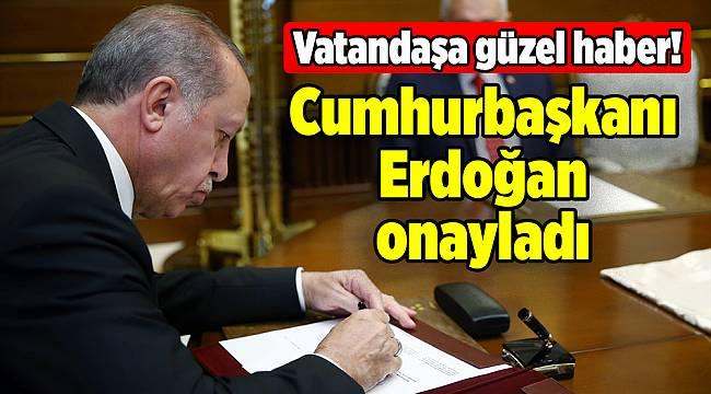 Erdoğan onayladı: O cezalar yüzde 60 azalıyor