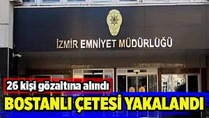 İzmir'de organize suç örgütü operasyonu