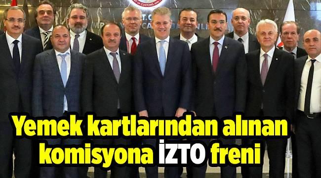 İZTO'dan komisyon çalışması...