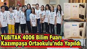TÜBİTAK 4006 KAZIMPAŞA'DA YAPILDI