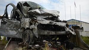 Eskişehir'de feci kaza; 5 ölü