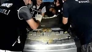 İran plakalı lüks cipin bagajından çıktı! Şok görüntüler..
