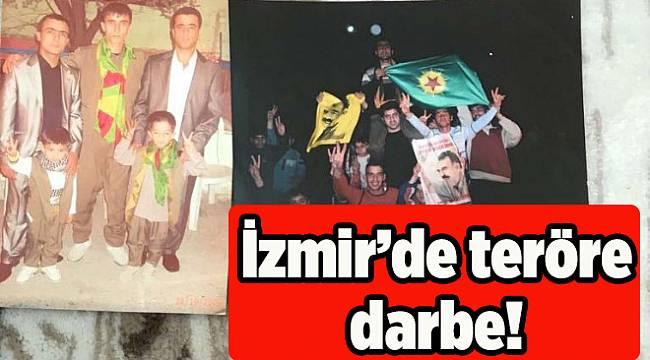 İzmir'de teröre darbe! Evden öyle fotoğraflar çıktı ki...