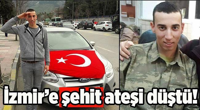 İzmir'e acı haber... Şehidimiz var...