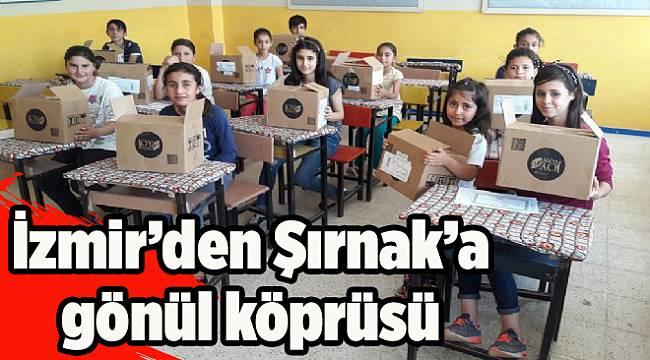 İzmir ile Şırnak arasındagönül köprüsü kurdular