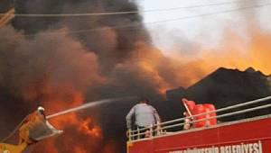 Afrin'in Cinderes kasabasında büyük yangın