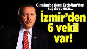Cumhurbaşkanı Erdoğan'dan suç duyurusu...