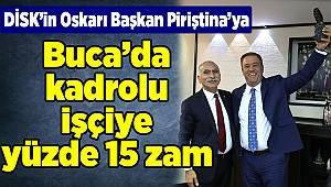 DİSK'in Oskarı Başkan Piriştina'ya