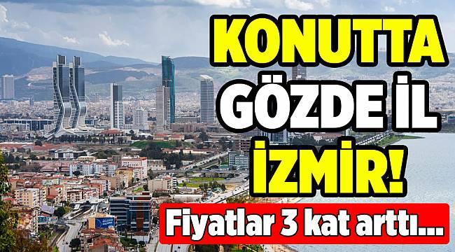İzmir'de konut fiyatları İstanbul'a göre 3 kat fazlalaştı..
