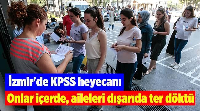 İzmir'de KPSS heyecanı
