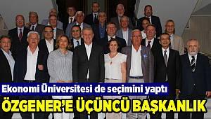 İzmir Ekonomi'de mütevelli heyet başkanı Özgener