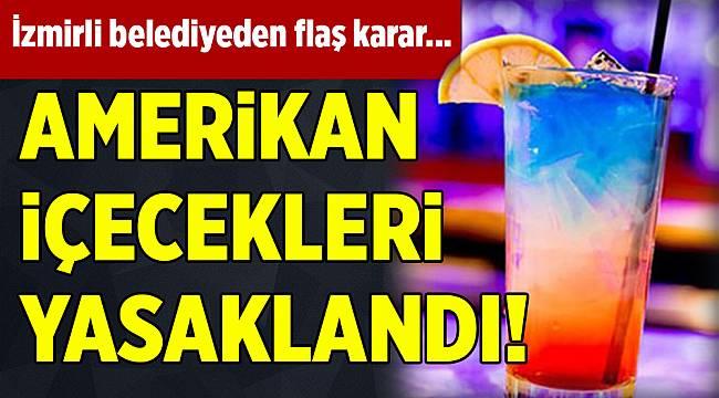Belediye tesislerinden ABD menşeli içeceklere yasak geldi...