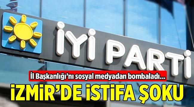 İYİ Parti İzmir'de o başkan yardımcısı partiden de istifa etti