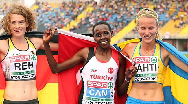 Milli atlet Yasemin Can, Avrupa üçüncüsü