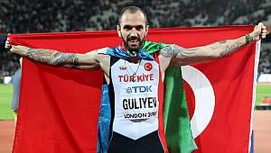 Ramil Guliyev, Avrupa Atletizm Şampiyonası'nda tarih yazdı