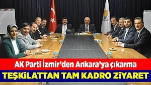 AK Parti İzmir'den Ankara'ya çıkarma