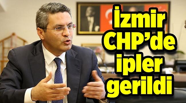İzmir CHP'de ipler gerildi