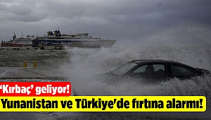 Yunanistan ve Türkiye'de fırtına alarmı!
