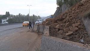 Ana Sayfa ASAYİŞ Ankara'da toprak kayması: